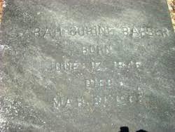 Sarah Corine Smith Barber (1846-1902) - Find A Grave Memorial