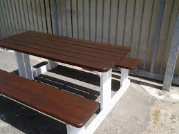 outdoor table and bench seats sale. benches by v \u0026 m outdoor table and bench seats sale