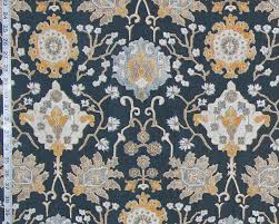 gray indigo blue arts and crafts rug craftsman gold baronial