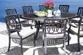 cast aluminum patio chairs. Cast Aluminum Patio Furniture - Bloom Dining Set With A Modern Design In Toronto Chairs