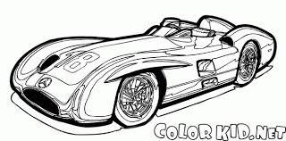ぬりえ 1954車