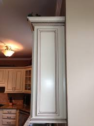 Maple Light Rail Molding My Dream Kitchen At Last Painted Maple Cabinets Antique