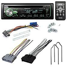 pioneer car stereo wire harness automotive parts online com pioneer deh x4900bt cd receiver aftermarket car stereo radio install kit wire harness radio