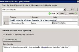 Microsoft Band Wiki System Center Operations Manager Dynamic Group Examples Technet