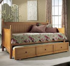 Wooden Day Beds With Trundle Databreach Design Home Simple Day