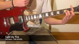 Light My Fire Tutorial Light My Fire Guitar Tutorial