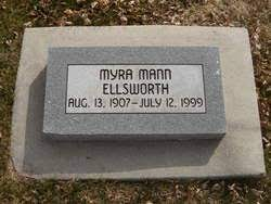Myra Mann Ellsworth (1907-1999) - Find A Grave Memorial