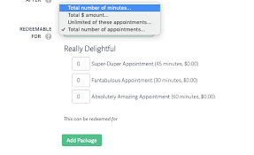 How To Make A Gift Certificate Appointment Packages Gift Certificates Acuity Scheduling