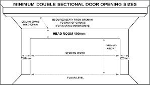 double garage door dimensions garage door standard garage door sizes single double roller doors the outrageous