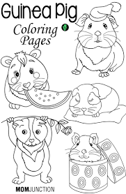 Small Picture Top 25 Free Printable Guinea Pig Coloring Pages Online Within