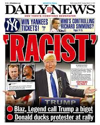 Image result for trump racist images
