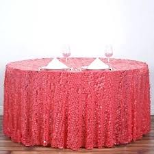 ya premium big sequin round tablecloth 52 inch oval x 70 zoom 52 inch round tablecloth
