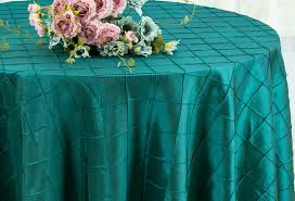 90 round pintuck taffeta tablecloths 28 colors