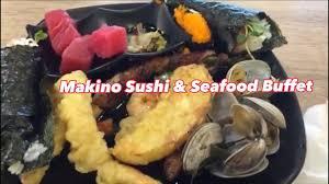 Makino Sushi & Seafood Buffet - YouTube