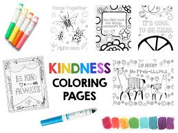 Coloring is a very useful hobby for kids. Kindness Coloring Pages Free Sample Page Art Is Basic An Elementary Art Blog