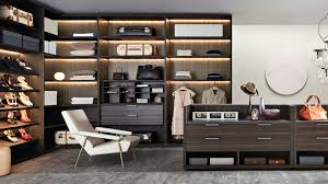 lighting for walk in closet. add shoes shelves and wide dressers for retro walk in closet with interessting led lighting