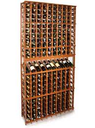 a vint 10 column estate wine rack at 92 5 inches tall with a high reveal