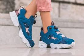 reebok x face stockholm. reebok x face stockholm insta pump fury blue pink women casual shoes ar2650