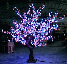 led artificial trees led lights trees artificial trees with led lights and high cherry blossom tree light 1 7 meters lighted artificial trees