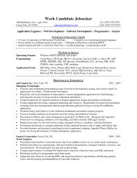 Java Developer Entry Level Junior Java Developer Cv Template