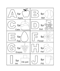 Printable Abc Coloring Pages For Kindergarten Coloringstar