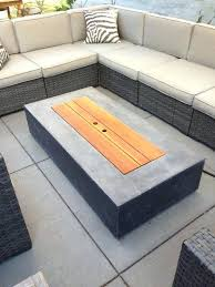 modern fire table modern how to build a patio table fire pit lovely outdoor coffee table