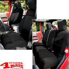 seat cover set neoprene front and rear
