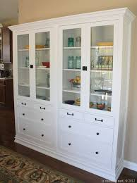 materials hemnes glass door cabinet