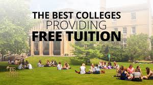The Best Colleges Providing Free Tuition
