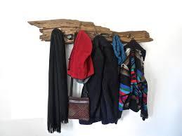 Cabin Coat Rack Rustic Coat Hanger Driftwood Coat Rack Driftwood Towel Rack 94