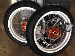 ktm 690 supermoto warp 9 wheels with tires for sale cycle house