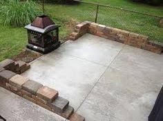 plain concrete patio. Contemporary Concrete Concrete Patios  Simple Plain Slab Inside Plain Concrete Patio