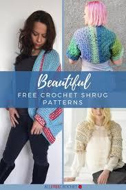 Crochet Shrug Pattern Inspiration 48 Free Crochet Shrug Patterns AllFreeCrochet