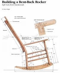 rocking chair drawing. Build Rocking Chair Drawing D