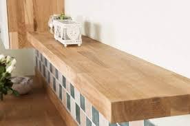 Real Oak Floating Shelves