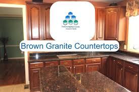Coffee brown granite is a traditional powerhouse of a material. Brown Granite Countertops Fortuna Marmo Granite
