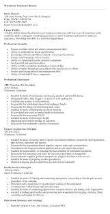 Warehouse Resume Beauteous sample resume for warehouse worker mmventuresco