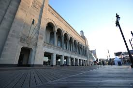Ac 3d Light Show Atlantic City Exteriors Boardwalk Hall Meetac Photo Source