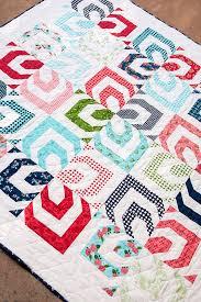 Kaleidoscope quilt pattern by Lella Boutique. Make it using a ... & Kaleidoscope quilt pattern by Lella Boutique. Make it using a jelly roll.  Gooseberry fabric Adamdwight.com