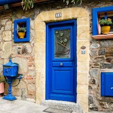 blue door house. Tablet 1:1 Blue Door House