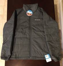 columbia men s saddle chutes jacket large graphite color from columbia