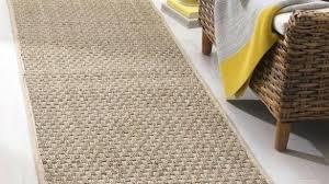 woven cotton rag rug runner rugs for stair runners elegant casual natural fiber hand sisal furniture