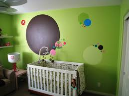 Astounding Nursery Design Wood Material Rounded Taupe Flokati Area