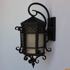 zoom santa barbara style wrought iron outdoor exterior light lightbox moreview santa barabara style wrought iron exterior fixture