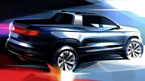 What If Volkswagen Made a Compact AWD Pickup Truck? This Concept Is ...