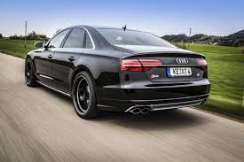 Audi S8 dialed up to 640 bhp by ABT Sportsline