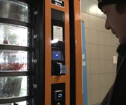 First Vending Machine Dispensed Gorgeous This Vending Machine Works Only With Cards Given To The Homeless