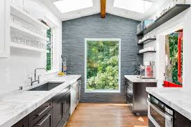 mid century modern galley kitchen. Mid Century Galley Kitchen White Turned Legs Painted Wooden Cainets Small Home Interior Decorating Ideas Modern G