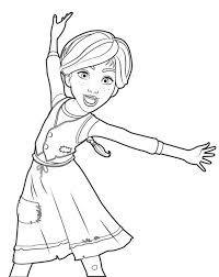 Leuk Voor Kids Angelina Ballerina Kleurplaten Ballerina Kleurplaat