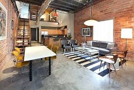 industrial style home office. Industrial Style House Home Office Study Room Well Hidden In This Loft Plan Suburban Exterior